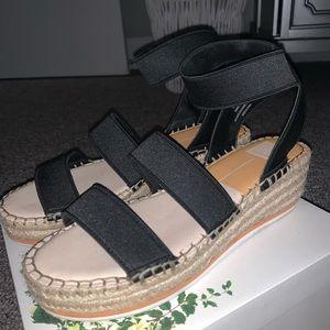 Dolce Vita Black Wedges Size 10